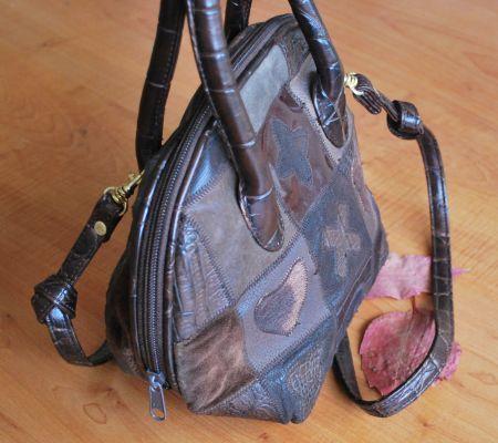 Vintage Deri-Güderi Yuvarlak Çanta/ Leather-Shammy Opuspocus Butik-110 TL http://www.opuspocusbutik.com/urun/vintage-yuvarlak-canta/198437