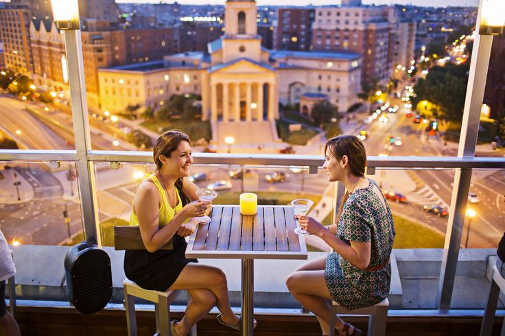 Discover Washington, DC's best bars with a view at these outdoor drinking establishments. Watch a sunset or admire the skyline with a cocktail in hand.