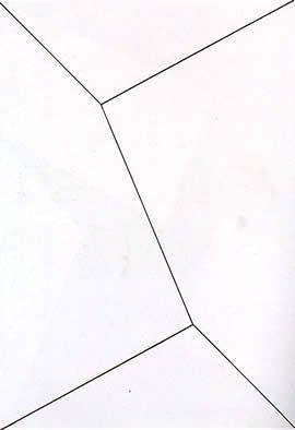 Lygia Clark, Planos em superfície modulada nº 1, 1957