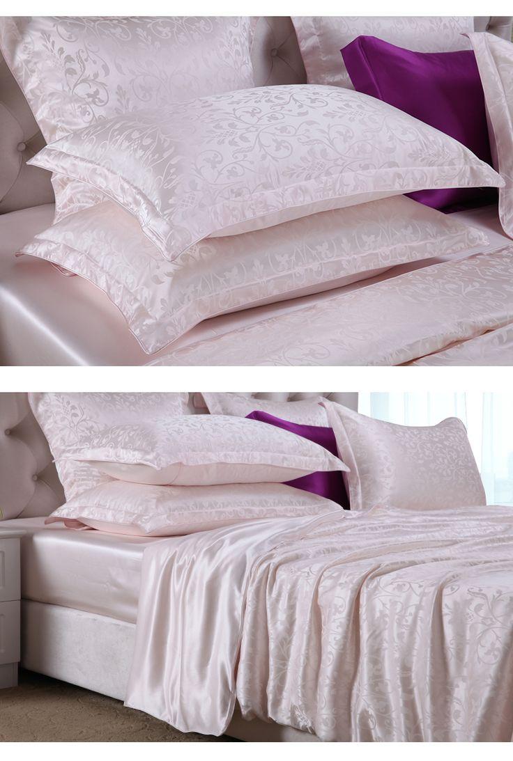 1344 best silk bed sheets silk duvet covers images on. Black Bedroom Furniture Sets. Home Design Ideas
