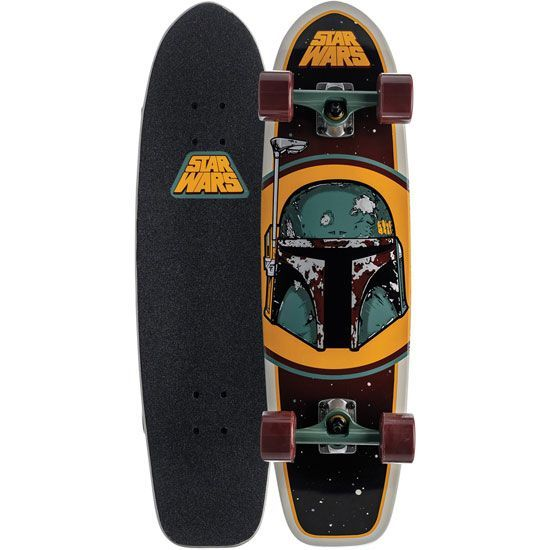 Star Wars skateboards - Everything is proceeding as I have foreseen.  Wait no..I didn't forsee this.  Damn.  Anyway - awesome. SANTA CRUZ Star Wars Boba Fett Cruzer