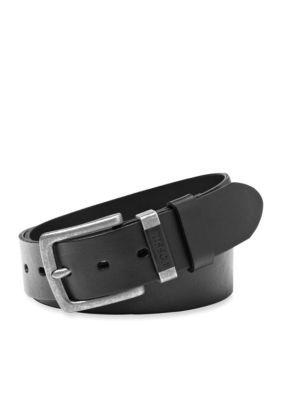 Fossil Men's Jay Leather Jean Belt - Black - 42
