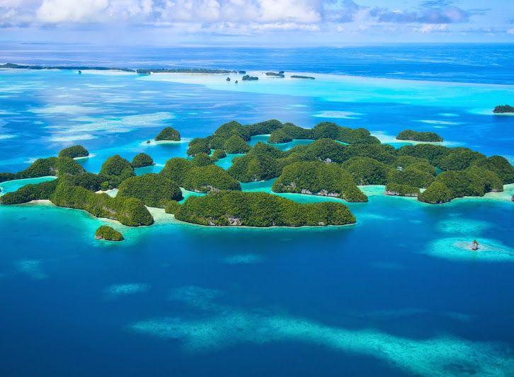 Palau , oficialmente Republica de Palau , es un pais islero ,ubicado en el Oceano Pacifico Oeste . Geograficamente , pertenece al grupo de islas de Micronesia . . . // Palau , officially Republic of Palau  is an island country located in western pacific ocean . Geographically is part of the largest island group of Micronesia . . . @swami1951