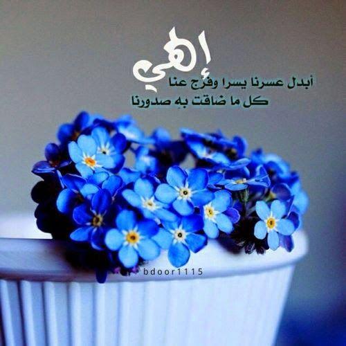 خواطر اسلامية عبارات ايمانية مفيدة جدا صور دينيه Blue Flower Wallpaper Blue Flowers Spring Flowers Background