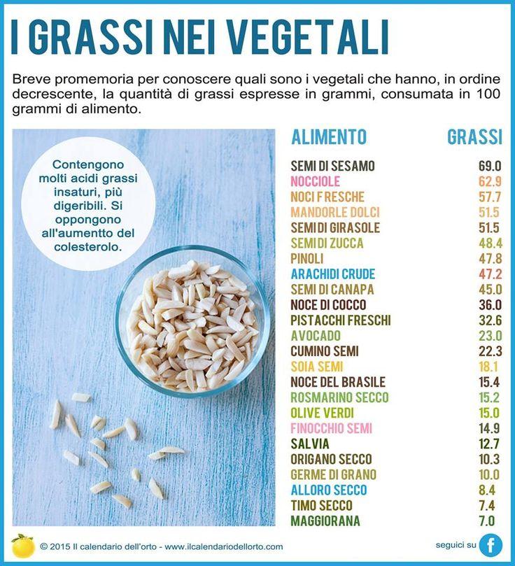 http://salutetiu.com/benefici-per-la-salute-di-hummus/  I Grassi nei vegetali