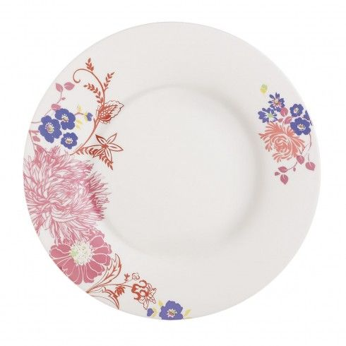 Assiette plate motif fleurs 28 cm Covent Garden Alys - La Table d\u0027Arc  sc 1 st  Pinterest & 34 best Dinnerware images on Pinterest   Dinner ware Cutlery and ...