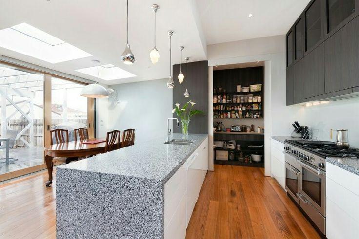 open galley kitchen