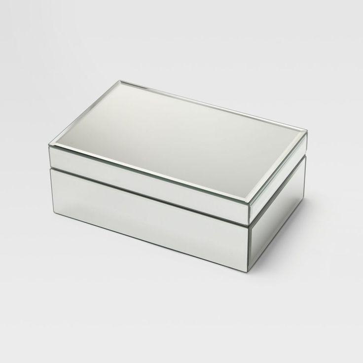 Mirrored Jewellery Box West Elm $49