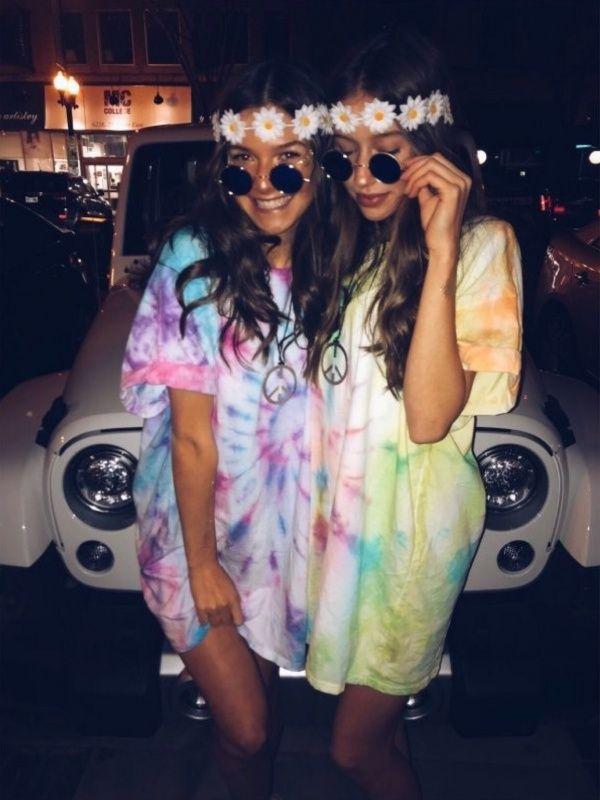 Hippie Halloween Costume Vsco.Vsco Vsco Outfit Costume In 2019 Group Halloween Costumes Bff