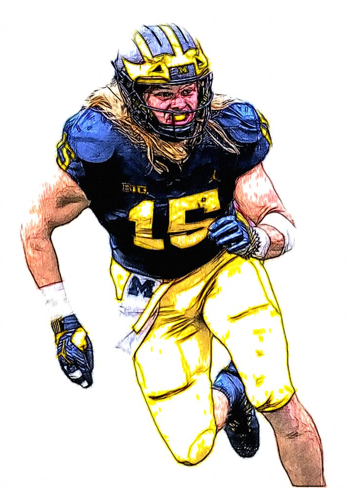 official photos 94dae 99267 Pin on Michigan Football Sketches