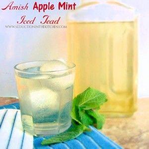Amish Apple Mint Iced Tea on MyRecipeMagic.com