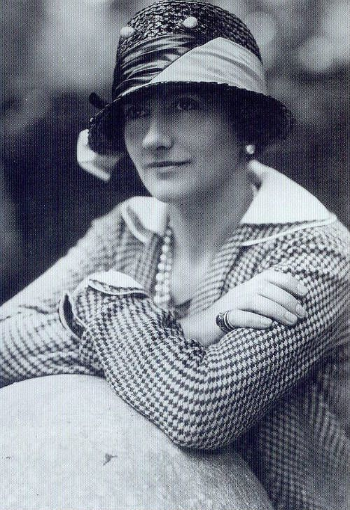 """Coco Chanel had a brief career on stage in the early 20th century, but will always be known for her fashion designs and the line of clothing and perfume that carries her name. By 1920, the French designer had introduced her """"chemise,"""" the simple, short, and loose dress that allowed flappers the freedom of movement to dance the night away."""