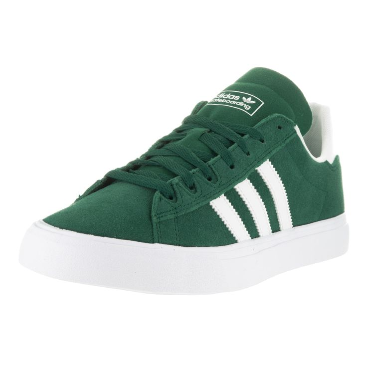 Adidas Men's Campus Vulc II and White Skate Shoe