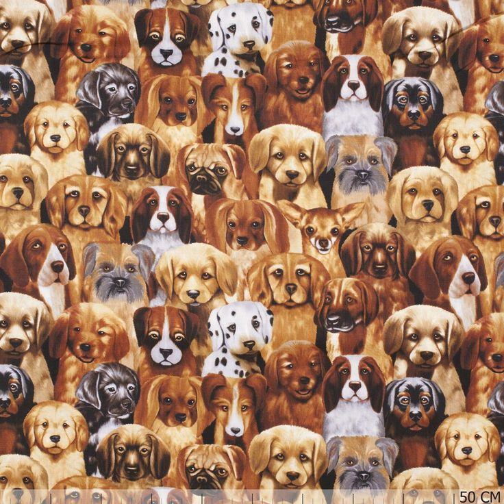 De mooiste puppies by michael searle stoffen vind je bij Textielstad.nl. ✓ Snelle levering ✓ Beste prijs ✓ Betrouwbaar ✓ A-merken.