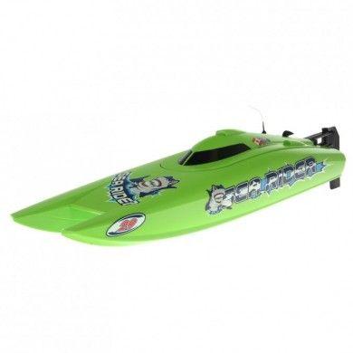 Motorówka Offshore Lite Sea Rider V3 to łódź wyścigowa wyprodukowana przez firmę Joysway. Nietypowa kolorystyka dobrze widoczna na wodzie, wzorowana na katamaranie posiada wydajny silnik elektryczsny szczotkowy chłodzony wodą. Opis, dane techniczne, komentarze oraz film Video znajdziesz na naszej stronie, nie ma jeszcze komentarzy, to czemu nie zostawisz swojego:)