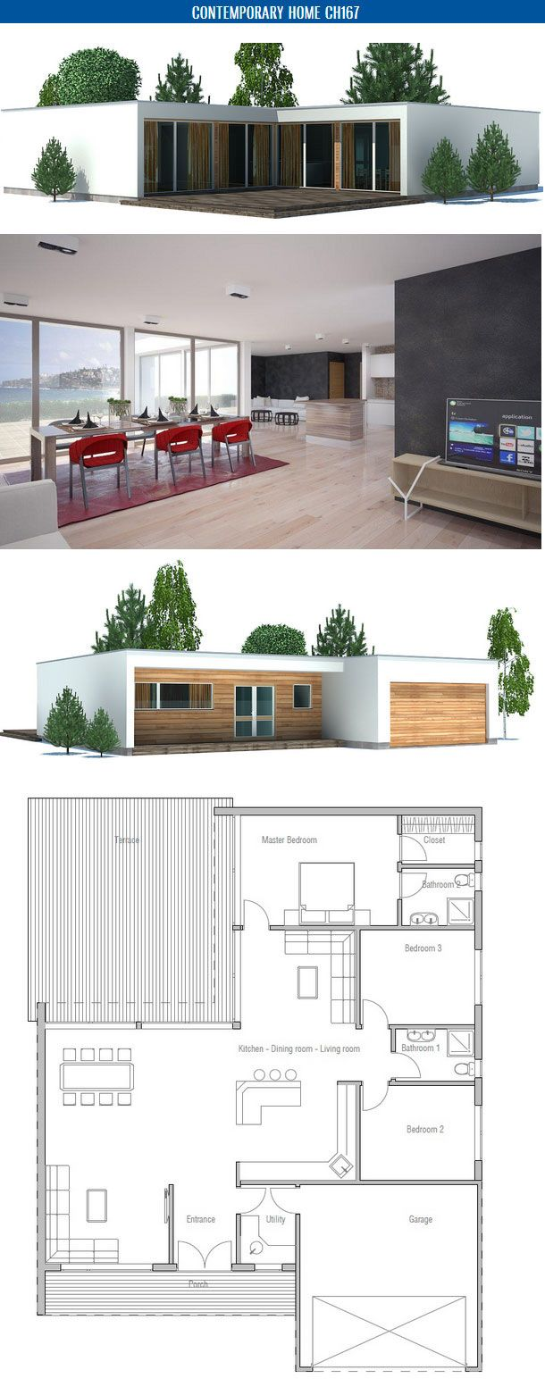 Best 20 plain pied ideas on pinterest plans maison de plain pied maison moderne plain pied and plan maison plein pied