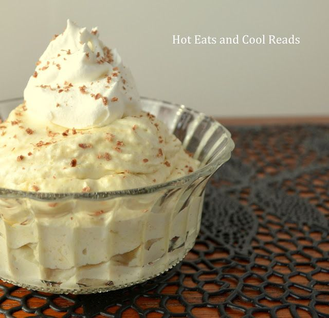 Hot Eats and Cool Reads: Cappuccino Cream Pudding Recipe