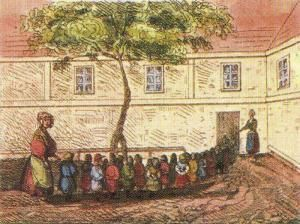 """Brunszvik Teréz gondolatainak szinte mindegyike máig hat és mai is érvényesek: 1809-ben ezt írja: - """" A korai nevelés a legfontosabb, amit az ember gyermekként lát, az segíti egész életében, hogy a jó felé orientálódjék."""" Teréz 53 éves, amikor 1828.június 1-jén, Budán megnyitja Közép - Európa első óvodáját..."""