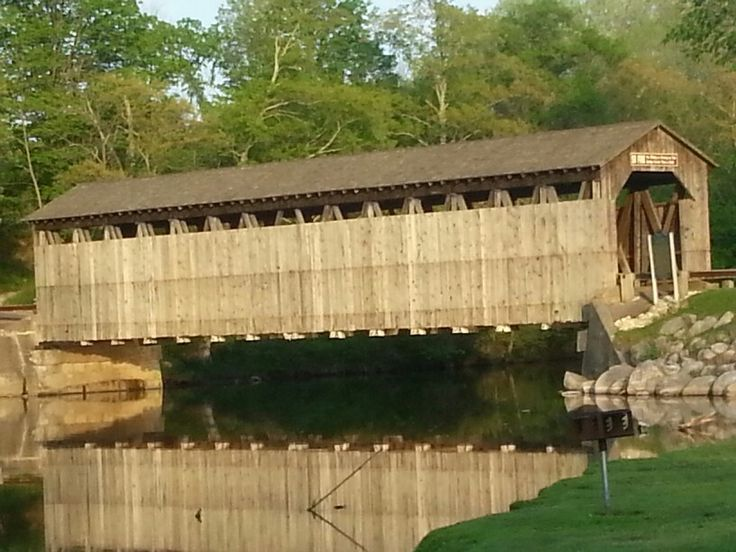Covered Bridge Near Greenville, Michigan. I Took This Picture With My  Galaxy S3 Phone