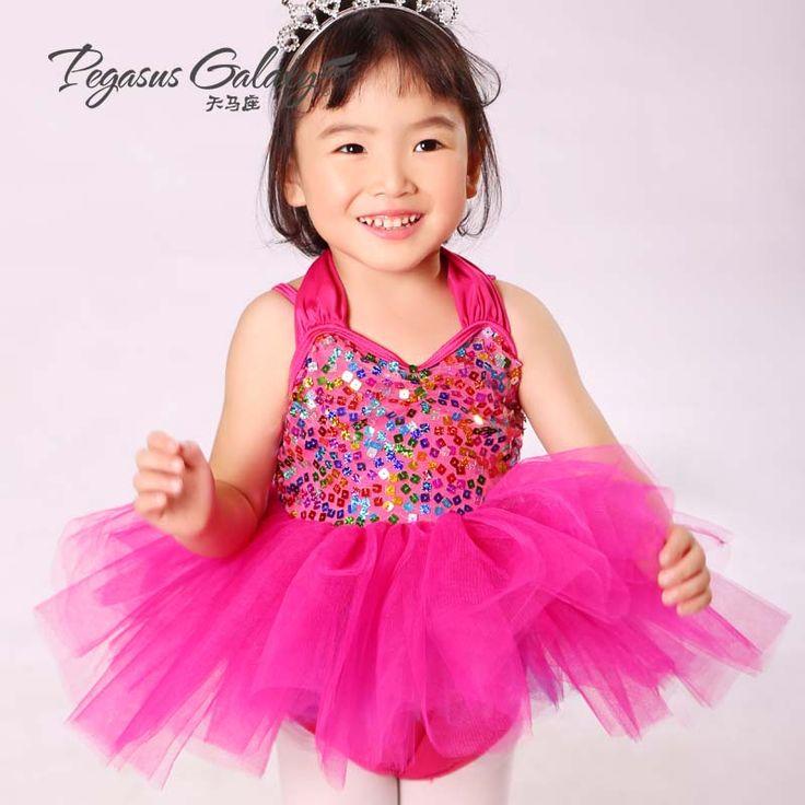 2016 новые дети платья для девушки танцуют Dressfactory сразу холтер платье одежда и женщин-детский балетные костюмы 1559