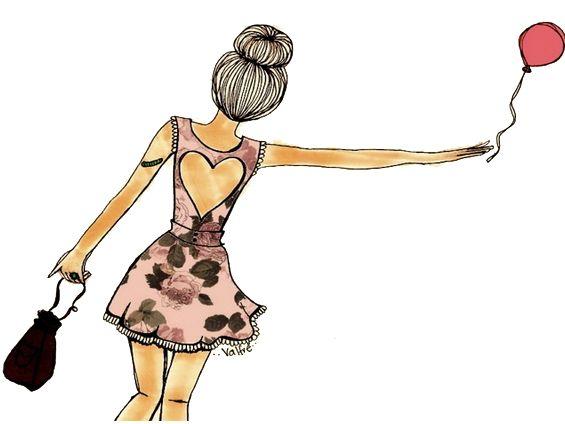 Devaneios De Uma Adolescente: Ilustrações