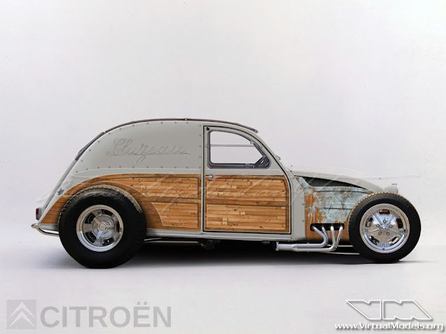 Citroen 2CV Hot rod V8