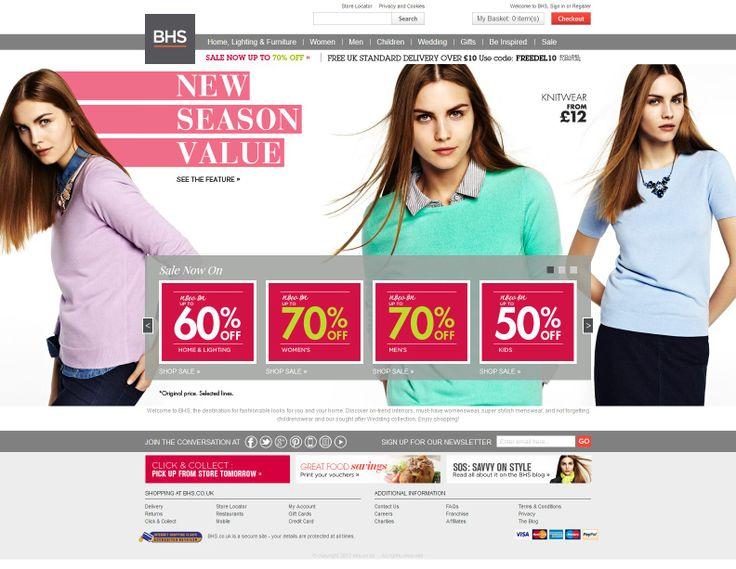 #e-commerce #web-design #fashion #home #retail