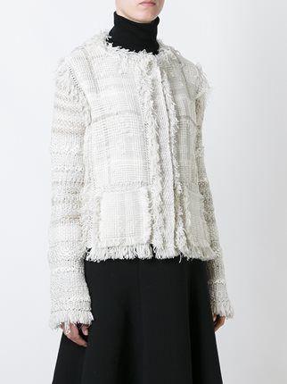 Lanvin твидовый пиджак
