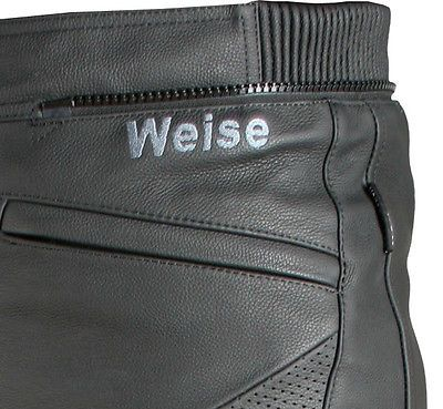 HYDRA WATERPROOF LEATHER MOTORCYCLE PANTS - Weise Leather Jeans