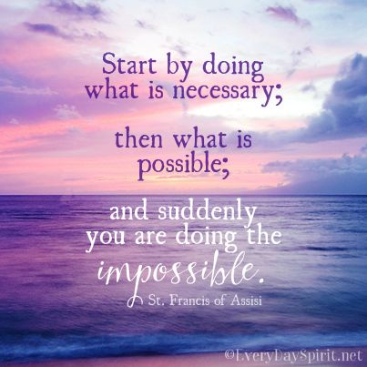 All things are possible saint francis For app of