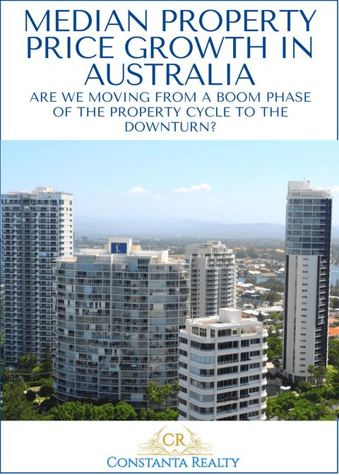 Gold Coast, Australia on photo. Article: Median property price growth in Australian capital cities