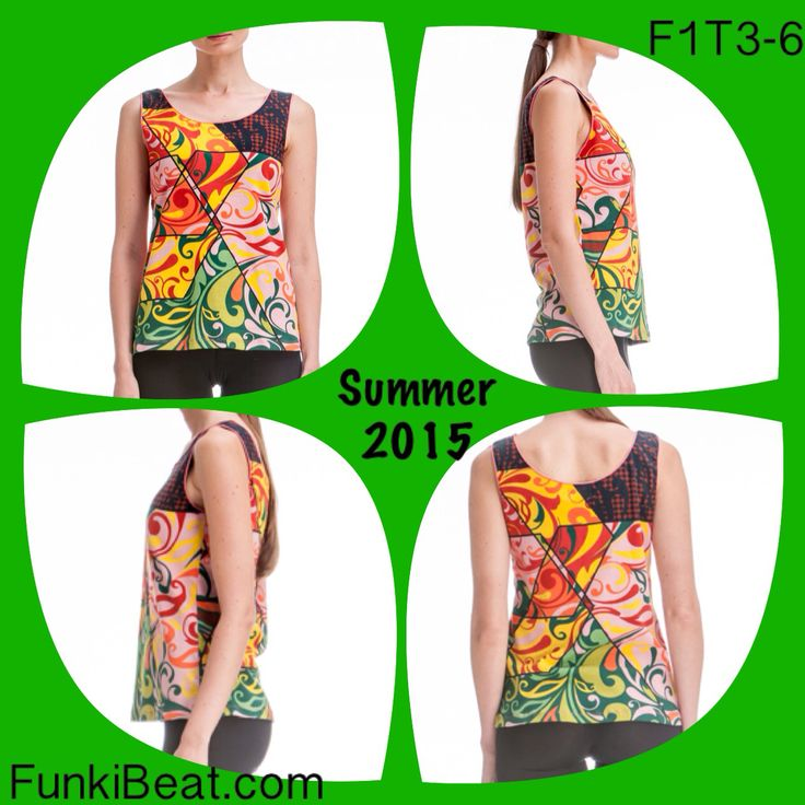 Singlet/Tank Top: Multi Sun is now available at FunkiBeat.com