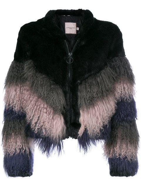 Купить Urbancode shaggy chevron jacket.