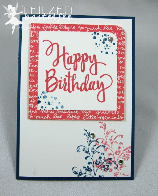Stampin' Up! - Stylized Birthday, Timeless Textures, Birthday, Geburtstag