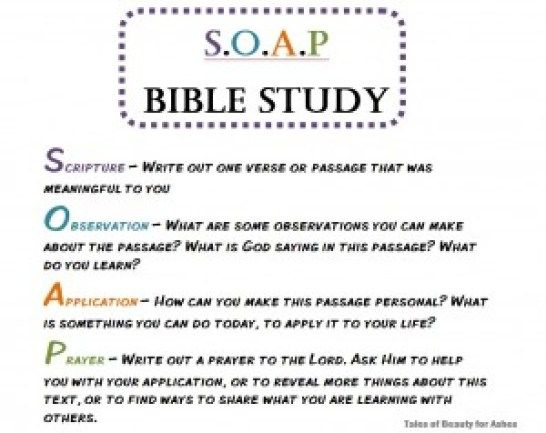 The  Best Soap Bible Study Ideas On   Devotional