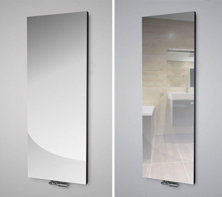 Zrkadlový radiátor... Viac na: Kupelnovy-manual.sk