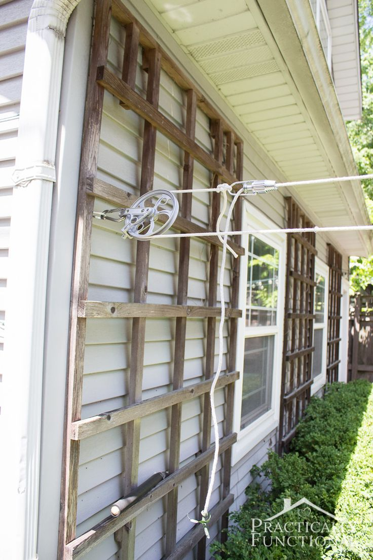 the 25 best diy clothesline pulley ideas on pinterest farmhouse