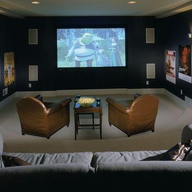 Houzz Via Suzy Dallas. Media Room DesignHome Theater ...