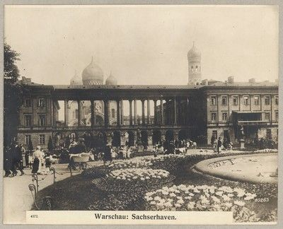 4372. Warschau: Sachserhaven.