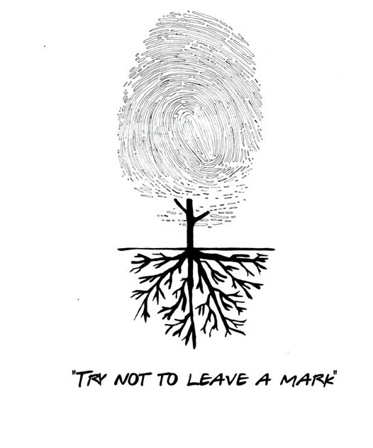 Fingerprint Tree Tattoo Pinterest Bomen