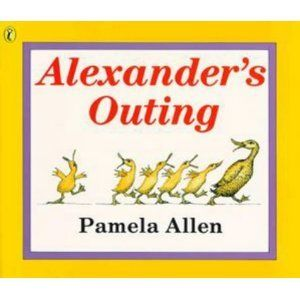 Alexander's Outing - Pamela Allen, Great to use in Science to teach children about Sinking and floating-Create your own Alexander out of certain materials and test if he floats or sinks