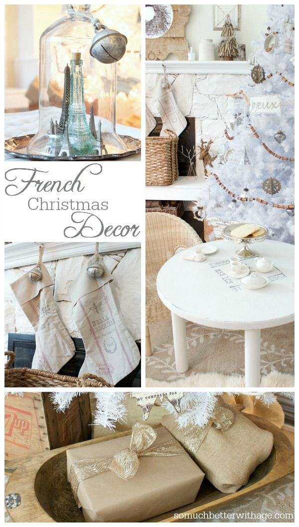 French Christmas Decor | So Much Better With Age