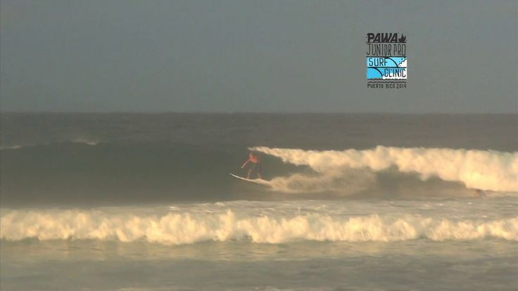 PAWA Junior Surf Clinic video.. Day one Thanks Mundo Rad for the coverage... #pawasurf #pawasurfclinic #pawasurfco