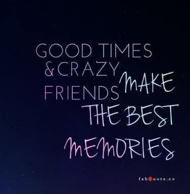 """Crazy friends always have the """"best"""" ideas."""