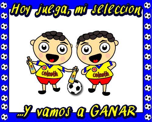 Imagenes de hoy juega mi selección Colombia, para compartir