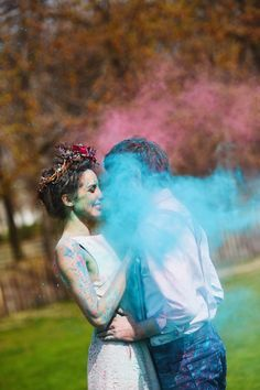 Photo of Trash the dress : Oh que c'est Holi ! – Bột màu