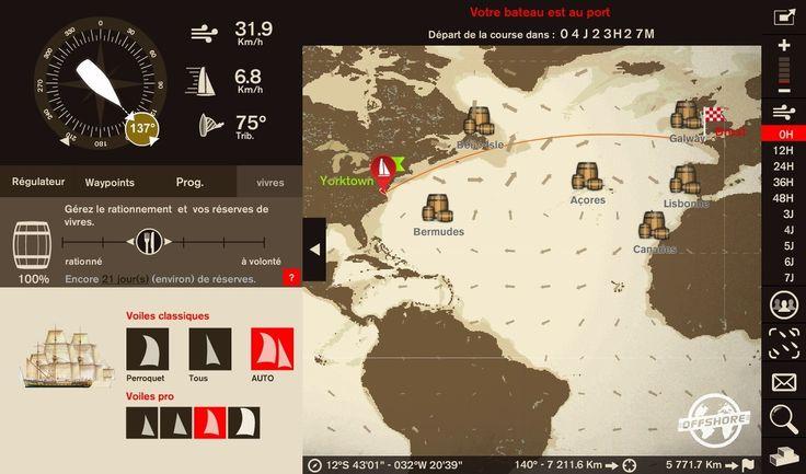 Virtual Regatta : une plateforme de jeu en ligne pour mettre le cap sur Brest 2016 !