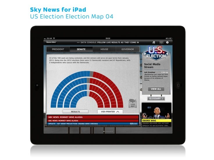 Sky News For Ipad Us Election Map 04