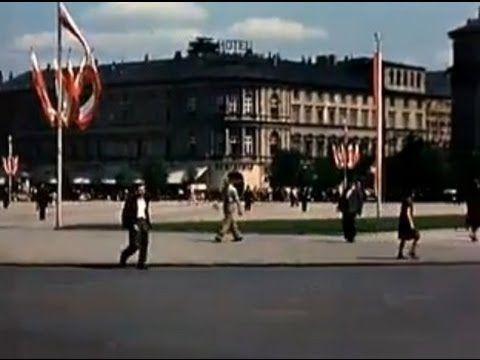 Kolorowa Warszawa - 3 maja 1939 Plac Piłsudskiego, defilada kawalerii or...