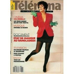Télérama - n°1977 - 02/12/1987 - Liza Minelli / photo d'Annie Leibovitz [magazine mis en vente par Presse-Mémoire]